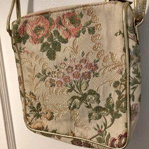 Vintage Floral Shoulder Bag